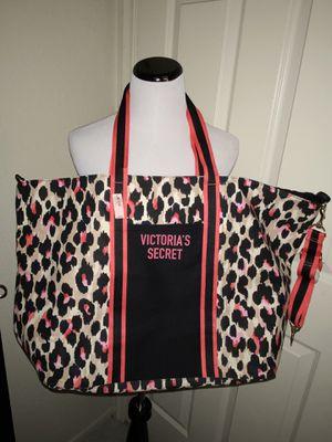 Victoria's Secret Large Canvas Tote Bag BNWT for Sale in Chandler, AZ