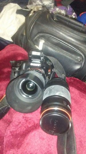 Sony A65 25 megapixel sports digital camera for Sale in Barstow, CA
