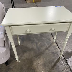 """🔥HOT SALE🔥🤯34""""in. Rectangular Antique Ivory 1 Drawer Writing Desk With Keyboard Tray for Sale in Houston, TX"""