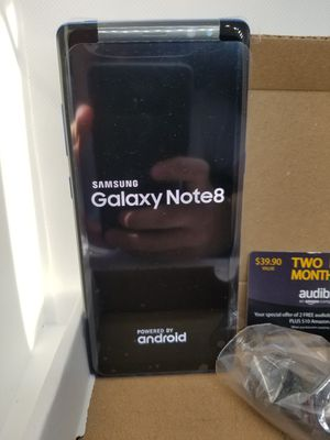 Samsung Galaxy Note 8 Plus 64gb unlocked any carrier worldwide elegant color Coral Blue for Sale in OR, US