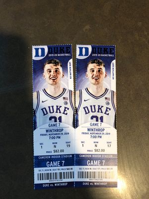 Duke Tickets for Sale in Arlington, VA