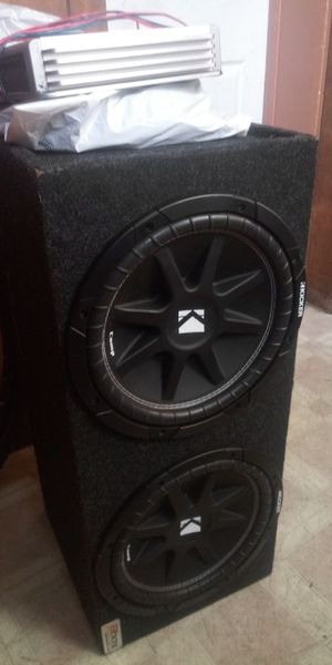 """2 12""""kickers for Sale in Chicago, IL"""