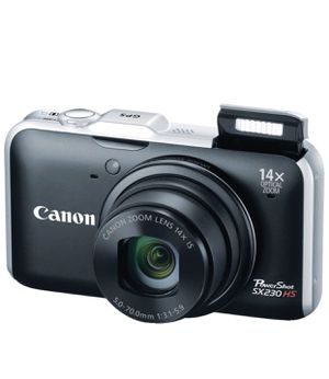 Canon PowerShot SX230 HS 12.1 MP CMOS Digital Camera with 14x Image Stabilized Zoom 28mm Wide-Angle Lens and 1080p for Sale in Fairfield, CA