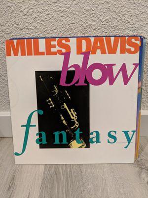 Vinyl Single-Miles Davis- Blow/Fantasy for Sale in Seattle, WA