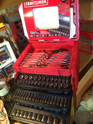 Craftsman 224 Piece Tool Set ! for Sale in Port Orchard, WA