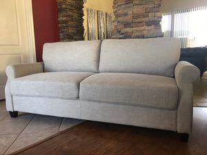 """Sofa brand new / couch / light beige / 77"""" long by 29"""" deep by 34"""" tall for Sale in Glendale, AZ"""