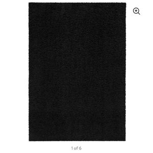 Black 5'7 Area Rug for Sale in Cayce, SC