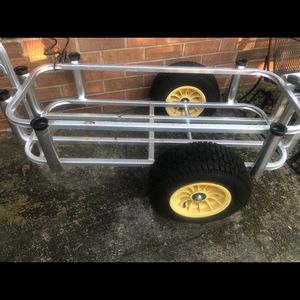 Utility/sporting/fishing Cart, Aluminum for Sale in Piedmont, SC
