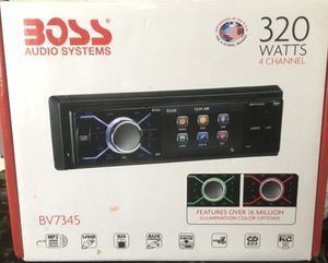 """Car radio system """"BOSS"""" for Sale in Tampa, FL"""