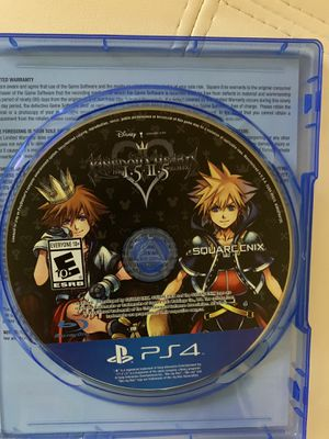 Kingdom hearts ps4 1.5 + 2.5 for Sale in Columbus, OH