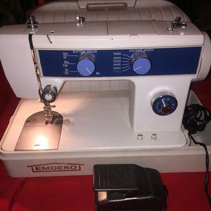 Emdeko sewing machine for Sale in Hyattsville, MD