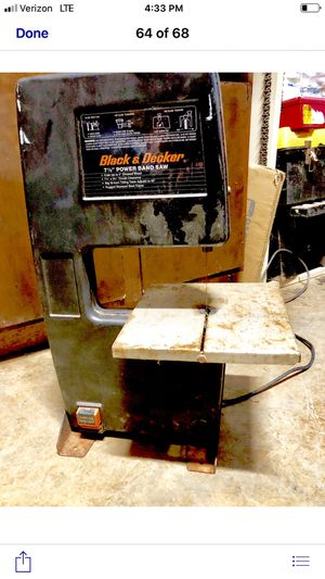 BLACK AND DECKER BAND SAW for Sale in Bowdon, GA