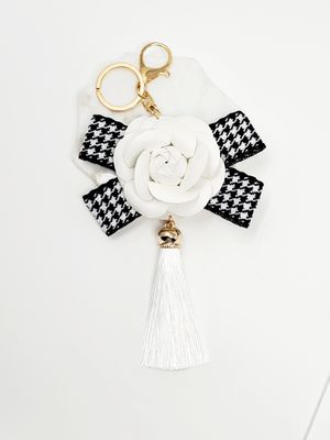 Flower tassel keychain bag charm for Sale in Baldwin Park, CA