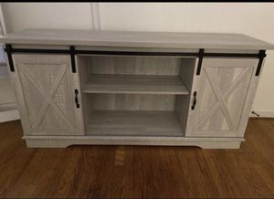 TV Stand Rustic Modern (FREE DELIVERY) for Sale in Union, NJ