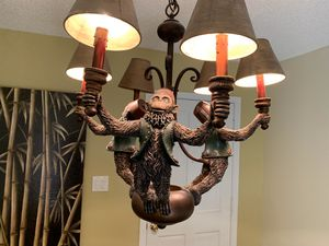 Could you die! Awesome Monkey Chandelier! for Sale in St. Petersburg, FL