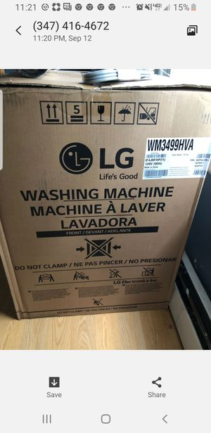 LzG washer/Dryer combination for Sale in Brooklyn, NY
