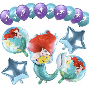 The Little Mermaid 15pcs balloons . for Sale in Los Angeles, CA