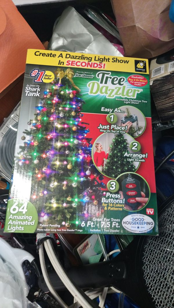 Star Shower Tree Dazzler Led Christmas Lights By Bulbhead