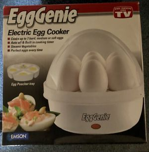 EGG GENIE Electric Egg Cooker for Sale in Everett, WA
