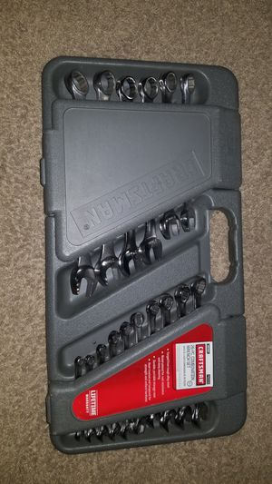 Craftsman metric wrench set for Sale in Houston, TX
