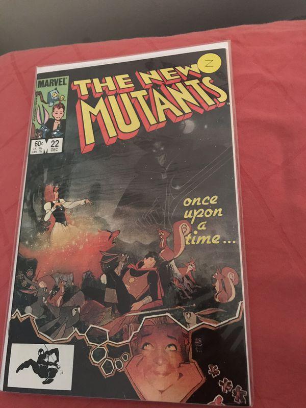 The New Mutant Comics