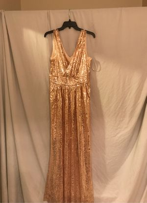kate kasin women sequin bridesmaid dress for Sale in Canal Winchester, OH