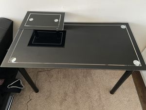 Glass desk for Sale in Pittsburgh, PA