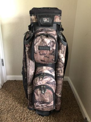 BRAND NEW! Camouflage Cart Golf Bag. Never used! for Sale in Lafayette, CO