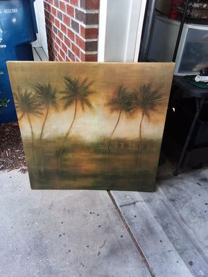 Firm price canvas art picture 3 ft for Sale in Durham, NC