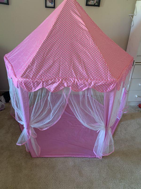 Princess castle tent for kids