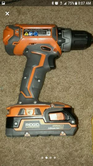 Ridgid 18 volt combo for Sale in Erie, PA