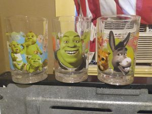 """""""Shrek"""" collectable glasses for Sale in New Port Richey, FL"""
