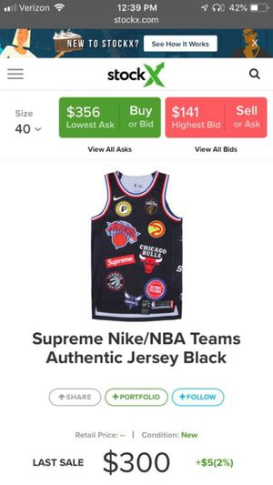 Supreme jersey for Sale in Peoria, AZ
