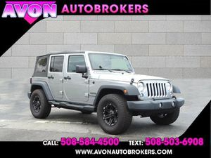 2018 Jeep Wrangler JK Unlimited for Sale in Avon, MA