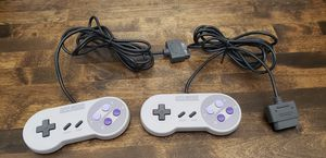 Original Super Nintendo controllers for Sale in San Gabriel, CA