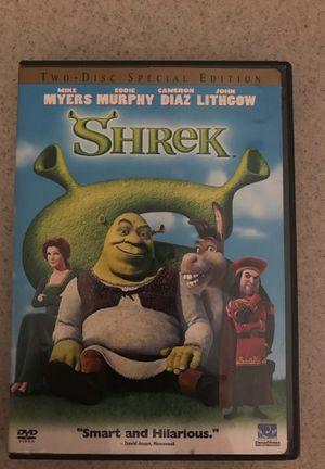 SHREK Dvd for Sale in Maricopa, AZ