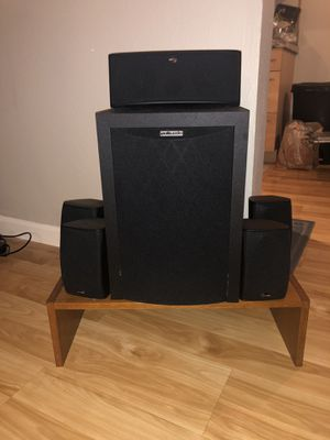 POLK AUDIO RM6750 5 Piece Home Theater Package for Sale in Walnut Creek, CA