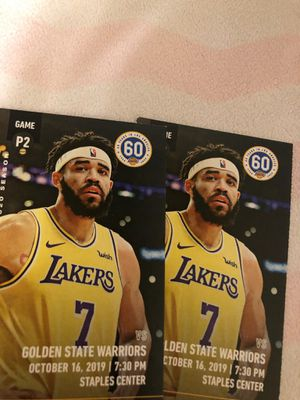 Lakers tickets for Sale in Los Angeles, CA