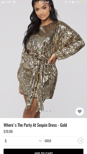 ce23c29fa99b New and Used Gold dress for Sale in Jackson, MS - OfferUp