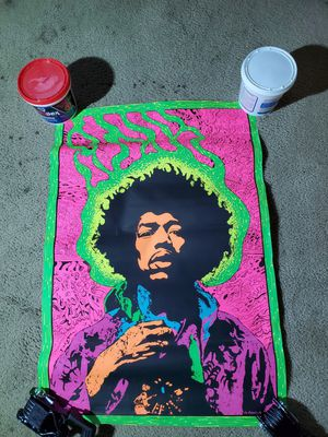 This is a very hard to find vintage Hendrix poster. for Sale in Overland Park, KS