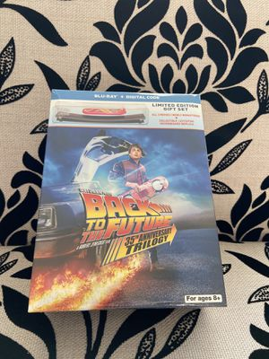 Back To The Future 35th Anniversary Trilogy LTD Edition Gift Set Blu-ray+DIGITAL for Sale in San Jose, CA