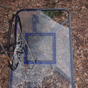 Huffy 10ft basketball hoop adjustable height for Sale in Glen Burnie, MD