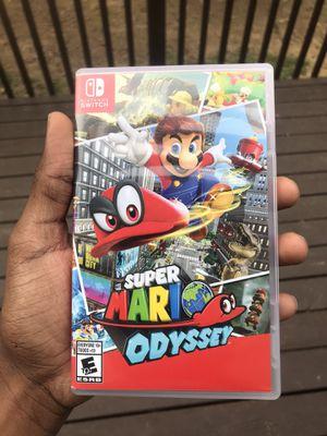 Super Mario odyssey (Nintendo switch) for Sale in Powder Springs, GA