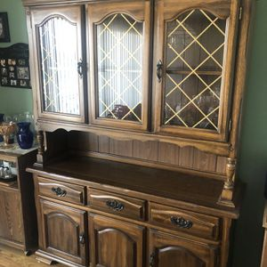 Wood hutch for Sale in Orland Park, IL