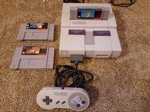 Great Condition Super Nintendo for Sale in Canton, GA