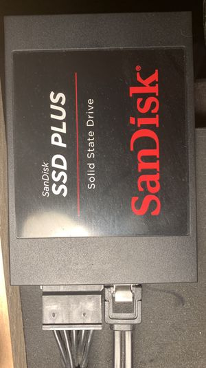 SANDISK 120 GB SSD for Sale in Amarillo, TX