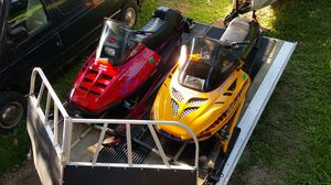 Snowmobiles & Trailer for Sale in DeKalb, IL