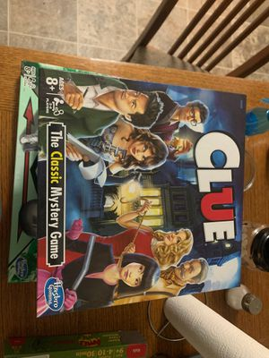 Clue! Gameboard for Sale in Fairview, OR