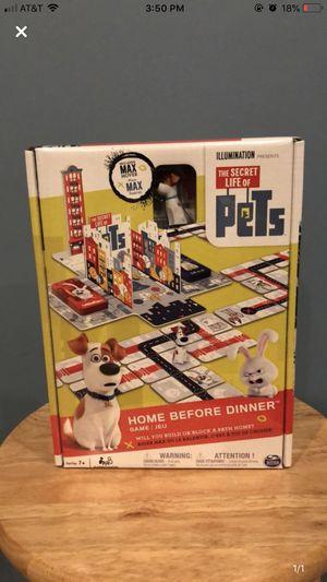 The Secret Life of Pets Board Game! for Sale in Atlanta, GA