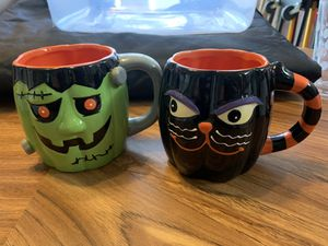 Halloween mugs for Sale in Fayetteville, NC
